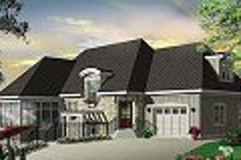 Cottage Exterior - Other Elevation Plan #23-675 - Houseplans.com