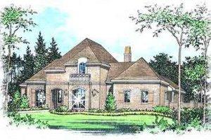 Dream House Plan - European Exterior - Front Elevation Plan #15-291