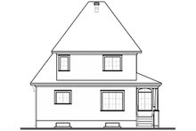 Home Plan - Farmhouse Exterior - Rear Elevation Plan #23-807