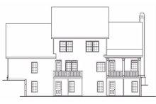 Craftsman Exterior - Rear Elevation Plan #419-137