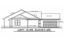 House Plan Design - Craftsman Exterior - Other Elevation Plan #20-2334