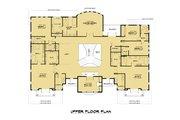Mediterranean Style House Plan - 10 Beds 9.5 Baths 9358 Sq/Ft Plan #1066-124 Floor Plan - Upper Floor