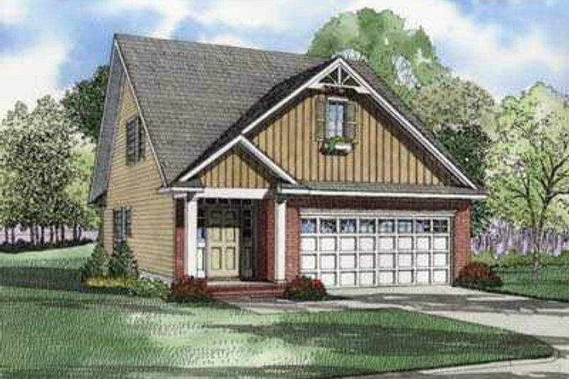 Dream House Plan - Traditional Exterior - Front Elevation Plan #17-426