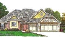 Home Plan - European Exterior - Front Elevation Plan #310-970