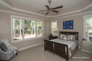 European Style House Plan - 4 Beds 3 Baths 2195 Sq/Ft Plan #929-958 Interior - Master Bedroom