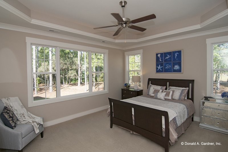 European Interior - Master Bedroom Plan #929-958 - Houseplans.com