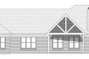 Country Style House Plan - 3 Beds 3 Baths 2385 Sq/Ft Plan #932-65 Exterior - Rear Elevation