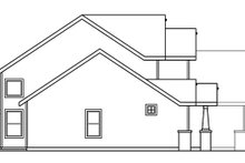 Craftsman Exterior - Other Elevation Plan #124-534
