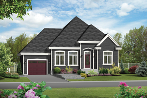 Traditional Exterior - Front Elevation Plan #25-4592