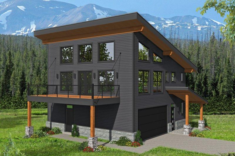 House Plan Design - Contemporary Exterior - Front Elevation Plan #932-339