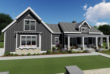 Farmhouse Exterior - Rear Elevation Plan #1069-17