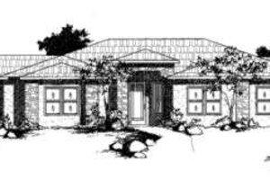 Modern Exterior - Front Elevation Plan #24-186