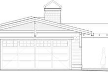 House Plan Design - Craftsman Exterior - Rear Elevation Plan #895-94