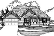 Traditional Style House Plan - 3 Beds 2 Baths 1893 Sq/Ft Plan #31-120