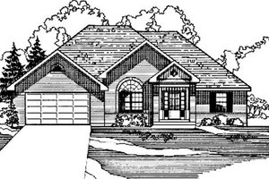 Traditional Exterior - Front Elevation Plan #31-120