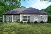 Traditional Style House Plan - 3 Beds 2 Baths 1493 Sq/Ft Plan #923-147 Exterior - Rear Elevation