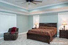 Home Plan - Ranch Interior - Master Bedroom Plan #929-1050