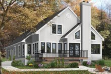 Contemporary Exterior - Front Elevation Plan #23-613