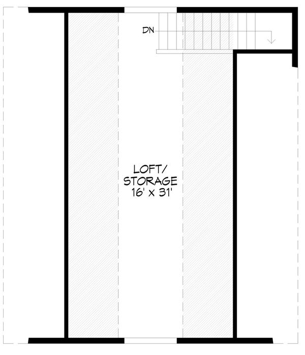 Dream House Plan - Country Floor Plan - Upper Floor Plan #932-140