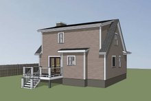 House Design - Farmhouse Exterior - Other Elevation Plan #79-154