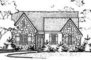 Ranch Style House Plan - 3 Beds 2 Baths 2120 Sq/Ft Plan #20-2285 Exterior - Front Elevation