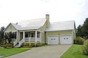 Country Style House Plan - 2 Beds 2 Baths 1294 Sq/Ft Plan #17-522 Photo