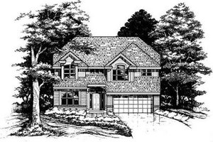 Traditional Exterior - Front Elevation Plan #50-166