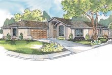 Home Plan - Ranch Exterior - Front Elevation Plan #124-501