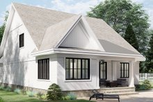 Home Plan - Farmhouse Exterior - Rear Elevation Plan #51-1165