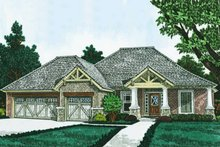 House Plan Design - Ranch Exterior - Front Elevation Plan #310-1311