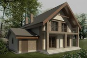 European Style House Plan - 3 Beds 2 Baths 1783 Sq/Ft Plan #906-6 Photo