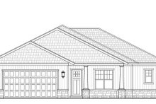 Architectural House Design - Craftsman Exterior - Front Elevation Plan #938-98