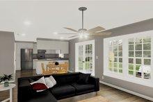 Architectural House Design - European Interior - Family Room Plan #44-132