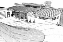 House Plan Design - Contemporary Exterior - Other Elevation Plan #451-15