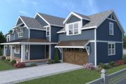 Contemporary Style House Plan - 4 Beds 2.5 Baths 2224 Sq/Ft Plan #1070-83