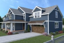 Dream House Plan - Contemporary Exterior - Other Elevation Plan #1070-83