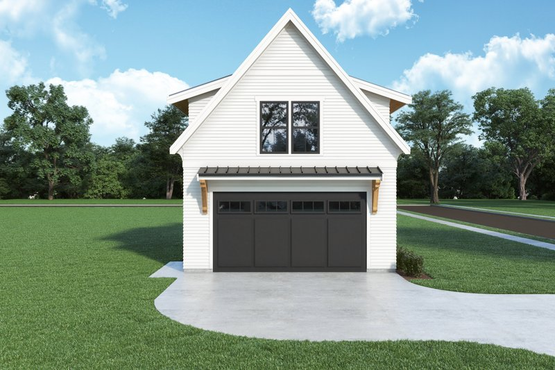 House Plan Design - Farmhouse Exterior - Front Elevation Plan #1070-138