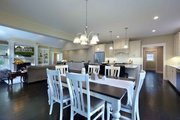 Craftsman Style House Plan - 3 Beds 3.5 Baths 4135 Sq/Ft Plan #928-318 Interior - Dining Room