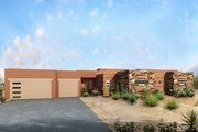 Modern Style House Plan - 4 Beds 2.5 Baths 2210 Sq/Ft Plan #1073-11 Exterior - Front Elevation