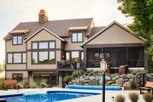 Craftsman Exterior - Rear Elevation Plan #928-260