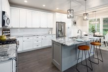 Dream House Plan - Contemporary Interior - Kitchen Plan #1070-30