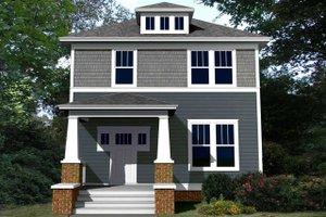 Craftsman Exterior - Front Elevation Plan #461-60