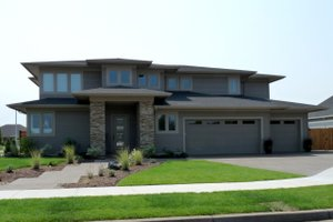 Home Plan - Prairie Exterior - Front Elevation Plan #124-969