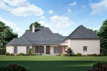 Dream House Plan - European Exterior - Rear Elevation Plan #1074-16