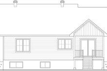 Architectural House Design - Farmhouse Exterior - Rear Elevation Plan #23-2741