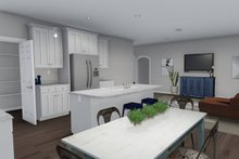 Architectural House Design - Ranch Interior - Kitchen Plan #1060-39