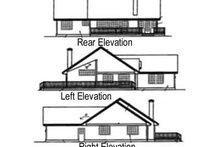 Dream House Plan - Ranch Exterior - Rear Elevation Plan #60-574