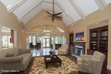 Dream House Plan - Traditional Interior - Family Room Plan #929-874