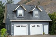 Traditional Style House Plan - 1 Beds 1 Baths 654 Sq/Ft Plan #126-174 Exterior - Front Elevation