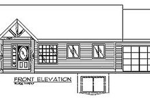 Dream House Plan - Traditional Exterior - Other Elevation Plan #117-234